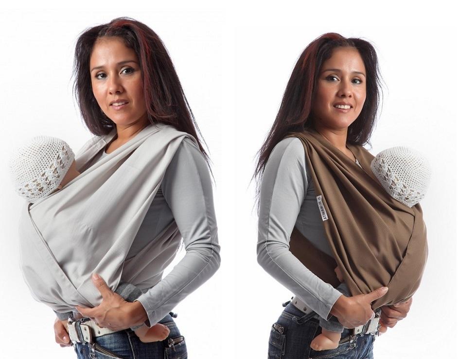 La longueur de l écharpe vous permet d adopter plusieures positions qui  sont confortables pour votre bébé et qui ne vous gêneront pas. 209a269bcbc