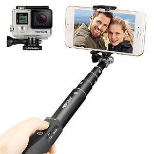 1.Mpow Perche Selfie Stick Monopod Bluetooth