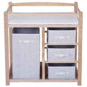 1.3 Table à langer - 1 grande boîte