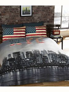 1.New York NYC Housse de couette