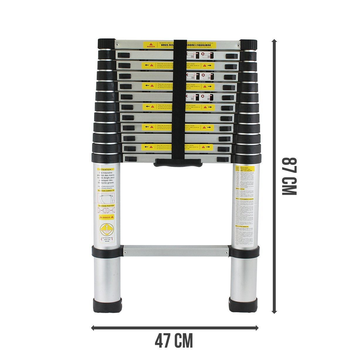 2.Echelle Télescopique Pro 2.60m