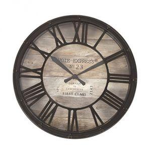2.Horloge pendule murale style vintage