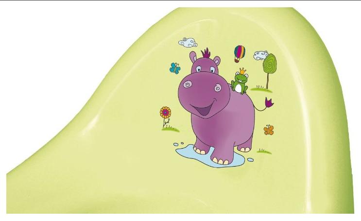 2.OKT Hippo Pot Deluxe Bébé Citron Vert