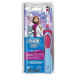 2.Oral-B Stages Power - Brosse à Dents Électrique pour Enfants - Reine des Neiges