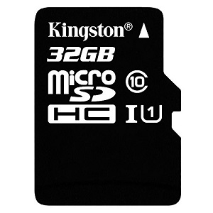 4.Kingston SDC10G2-32GB