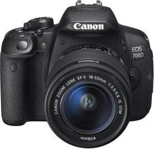 1.1 Canon EOS 700D
