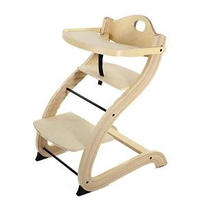 3.Baby Vivo Chaise Haute Pour Enfants Bois S-Design