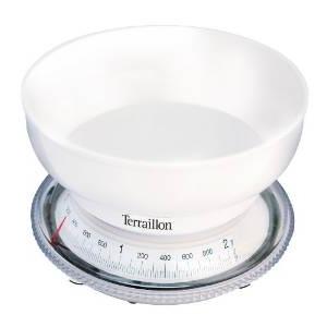 3.Terraillon T205 Balance Mécanique Blanc