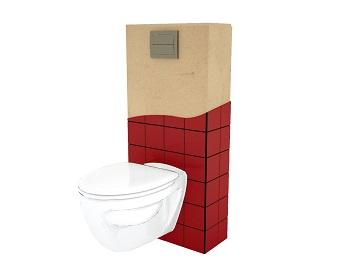 A.1 Le meilleur habillage wc suspendu