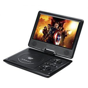 1.1 Lecteur DVD portable 9 pouces sur pivot 270