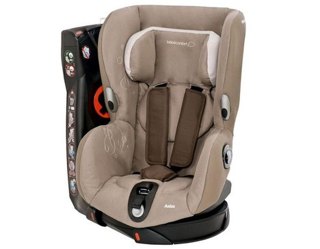 1.Bébé Confort Axiss Siège Auto Groupe 1 Collection 2019 Black Raven