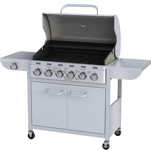 1.Barbecue grill à gaz Argenté