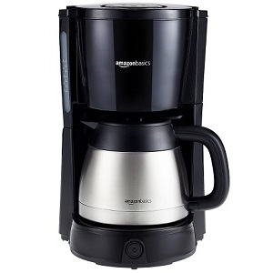 5.AmazonBasics Cafetière Filtre 1000 W 8