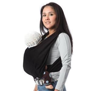 Ce porte-bébé est destiné pour les enfants de 0 à 3 ans. Il est  spécialement conçu à base de coton 100 % et conserve sa taille initiale  même après plusieurs ... e7b8f875da7
