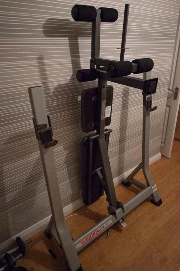 Banc de musculation Weider. Guide d'achat pour en choisir un bon En Quel Banc De Musculation Choisir on