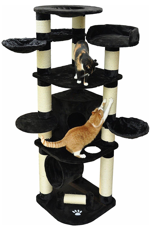 les meilleurs arbres chat g ants comparatif en oct 2018. Black Bedroom Furniture Sets. Home Design Ideas