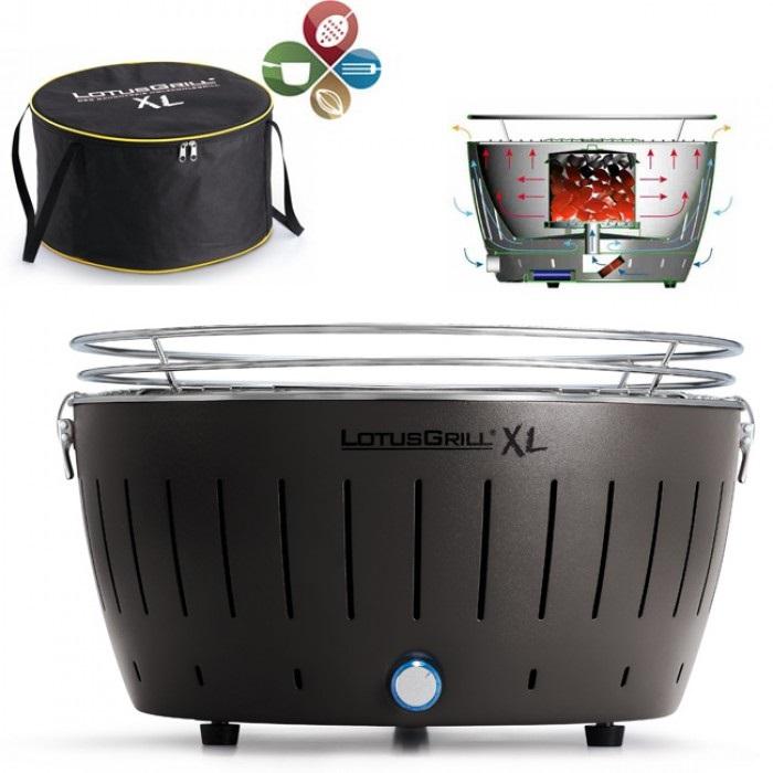 barbecue sans fum e lotusgrill g an 435 xl avis tests prix en mai 2018. Black Bedroom Furniture Sets. Home Design Ideas