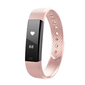 69adb19fece0d Ce bracelet tracker d'activité multifonction affiche des données basiques  comme l'heure, la distance parcourue, le nombre de pas réalisés ou la  quantité de ...