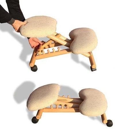 Chaise ergonomique sans dossier. Guide d'achat pour en choisir une on