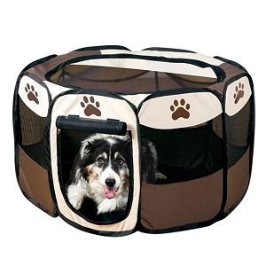cette niche pour chien intrieur est fabrique avec du tissu 600d oxford et du rseau adhsif pvc il fait environ 92 cm sur la longueur et largeur ainsi