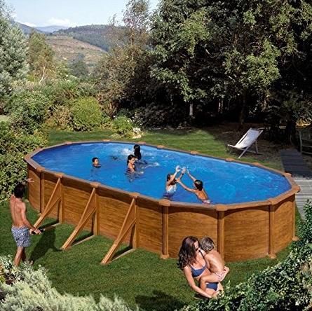 les meilleures piscines hors sol en bois comparatif en oct 2018. Black Bedroom Furniture Sets. Home Design Ideas