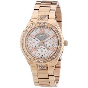 2a1d53b1c15a Les montres GUESS pour femme sont des accessoires féminins élégants qui  peuvent même être catégorisés chez les bijoux. Le modèle W0111L3 a un  cadran doré et ...