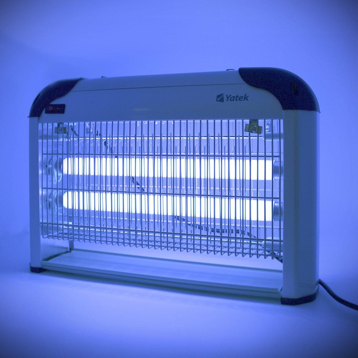 lampe anti moustique yatek 20w 100 m avis tests prix. Black Bedroom Furniture Sets. Home Design Ideas