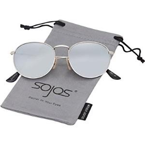 a67a23fb16 Ces lunettes SojoS ont une forme plutôt ovalaire que ronde, avec une  largeur des verres de 51 mm et une hauteur de 46 mm, le pont entre les deux  verres ...