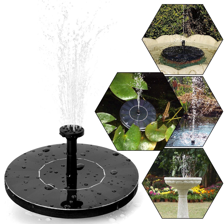 ▷ Les Meilleures Fontaines De Jardin Solaires | Comparatif En Juill ...
