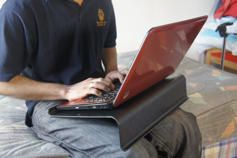 Ordinateur portable noir IKEA support de bureau table genoux pour ordinateurs portables 17 pouces NEUF