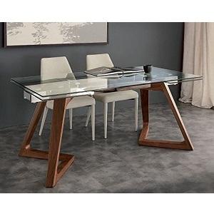 Considérée comme la meilleure table extensible en verre du marché, le  modèle Tosend Servizi sas TS647-180100 est une belle table, très décorative  et à ... ecb4fc3792b3