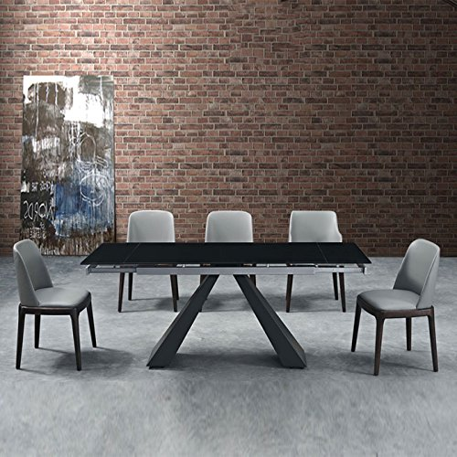 ▷ Les Meilleures Tables En Verre Noires Extensibles | Comparatif En ...