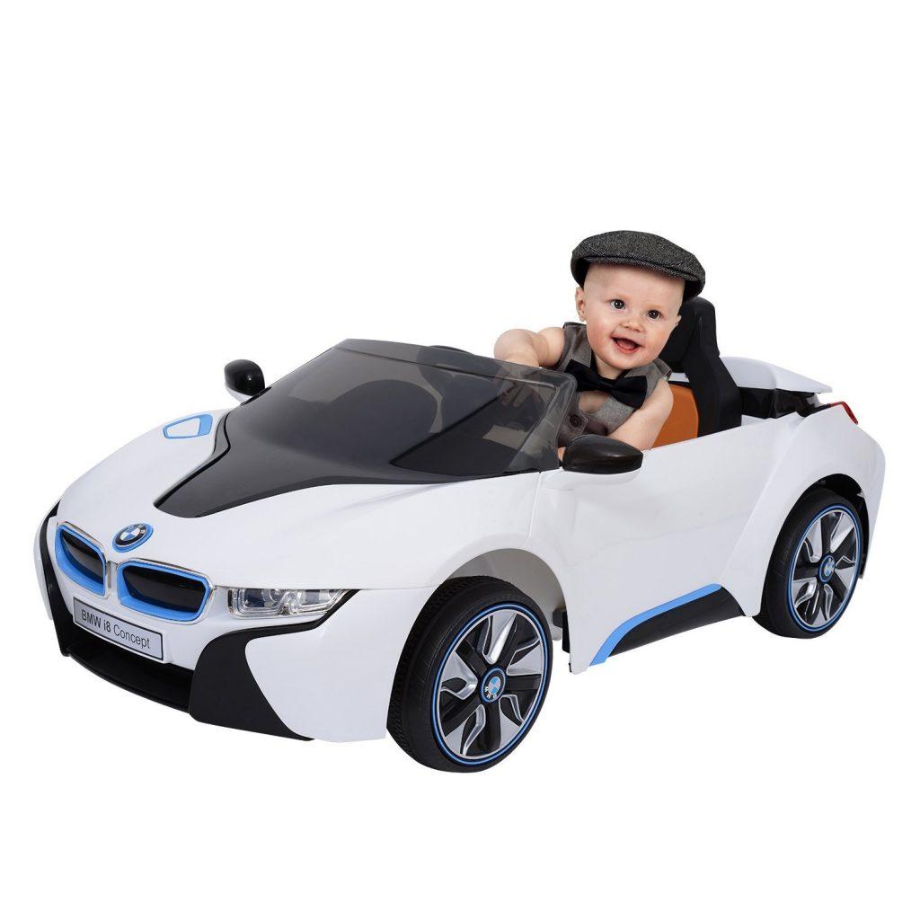 grand voiture pour mettre des enfant telecommander