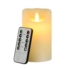 Kit de 4 bougies à DEL avec télécommande-Flamme Bougie Bougies méprendre vraiment