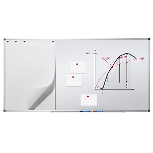 Mat/ériel de fixation inclus Excellente Qualit/é Tableau Magn/étique Master of Boards/® Business PRO Tableau Blanc Professionel Tailles au choix Tableau Affichage 60x90cm