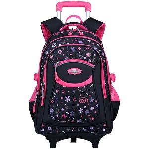 Coofit cartable à roulettes pour fille est un des sacs à dos à roulettes  que nous recommandons le plus. La marque n est plus à présenter dans le  secteur, ... a86a6d440257