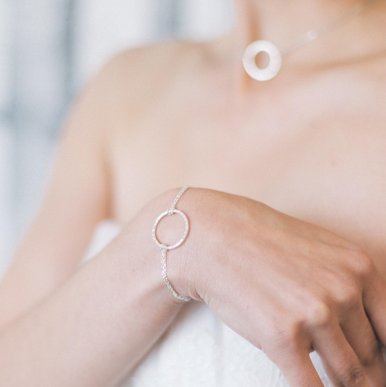 bracelet femme anneaux