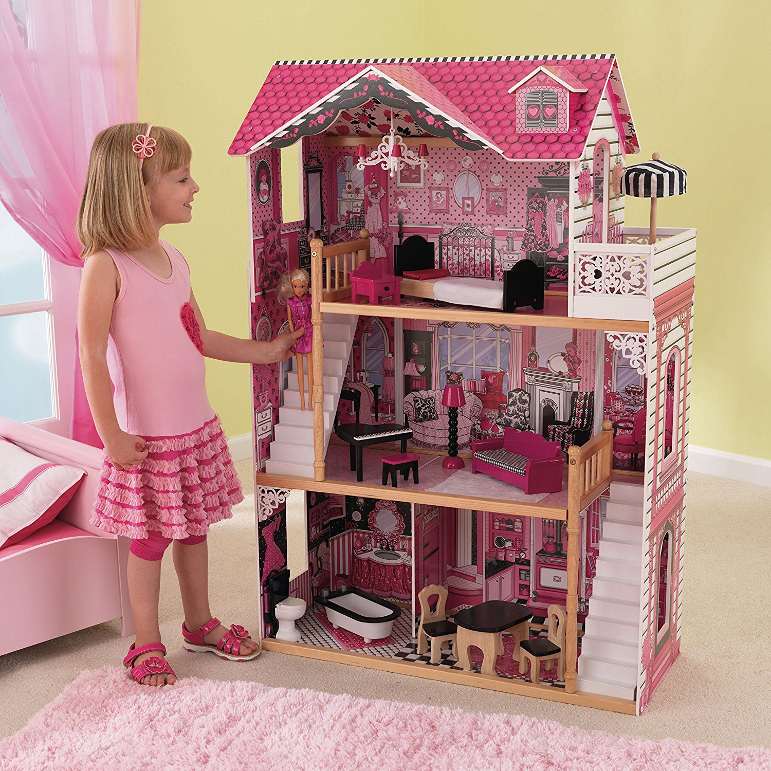 classement guide d achat top maisons de barbie en nov 2018. Black Bedroom Furniture Sets. Home Design Ideas